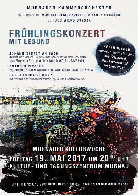 Plakat Frühlingskonzert